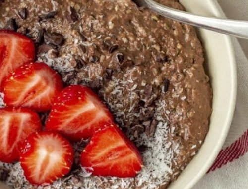 Chocolate Hemp Seed Porridge